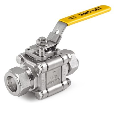 H-500 3 Piece Ball Valve HAM-LET
