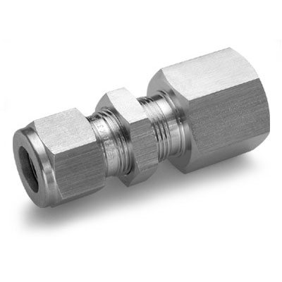 774LF HAM-LET Let-Lok Bulkhead Female Connector (Double Ferrule)