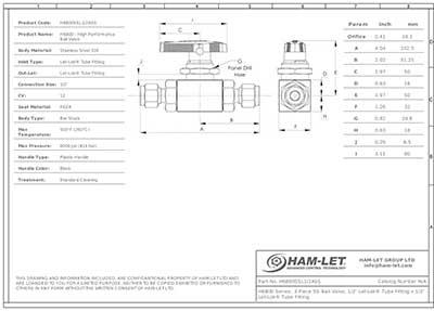 HAM-LET Datasheet