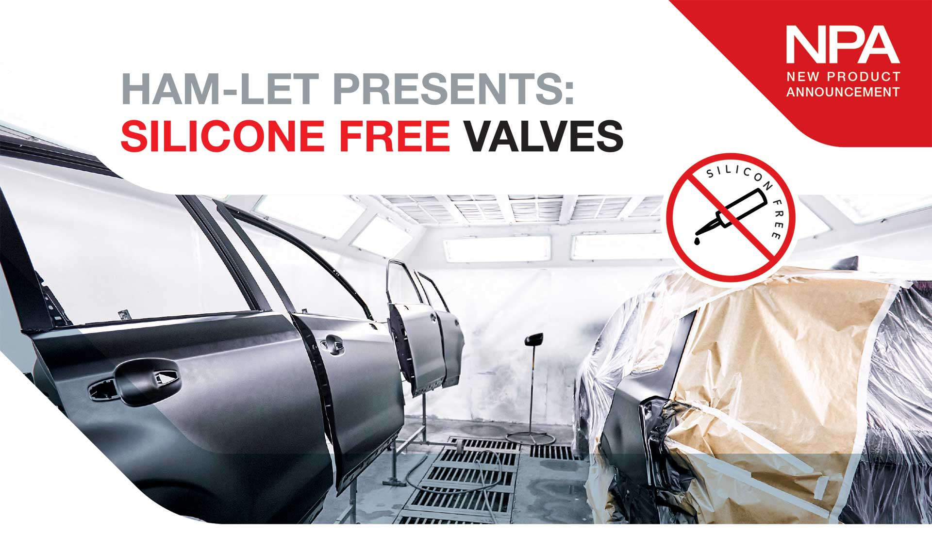 Silicone Free Valves HAM-LET Swagelok